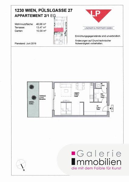 Nähe Liesingbach - Bezauberndes Apartment mit Terrasse und kleinem Garten Objekt_31842 Bild_323
