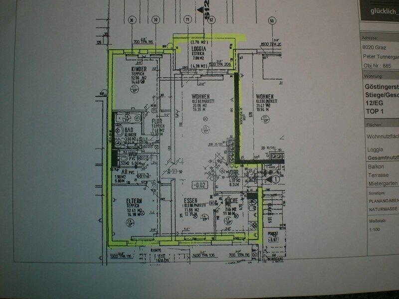3 Zimmer Wohnung Graz Eggenberg direkt vom Eigentümer /  / 8020Graz / Bild 1