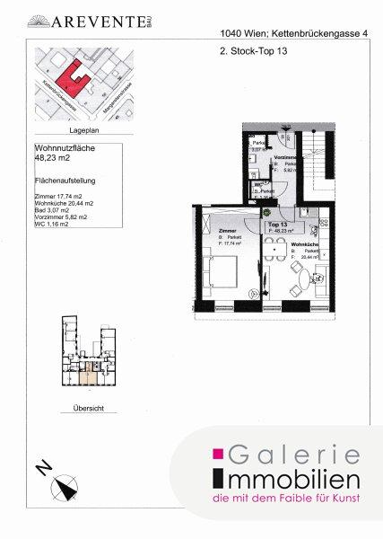 Exqisite Altbauwohnung in revitalisiertem Biedermeierhaus - SW-Ausrichtung Objekt_31850 Bild_482