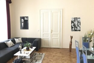 geräumte, sanierte, zentrale und schöne Altbauwohnung in Wien 7 | ZELLMANN IMMOBILIEN