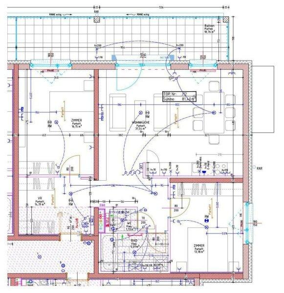 Provisionsfrei direkt vom Bauträger! Moderne 3-Zimmer-Wohnung in Korneuburger-Top-Lage inkl. KFZ-Stellplatz /  / 2100Korneuburg / Bild 10