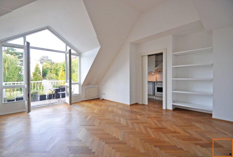 Charmante DG-Wohnung am Rande des Wienerwaldes