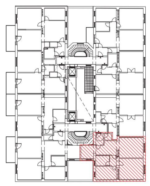 ++NEU++ Hochwertiger 3-Zimmer Altbau-Erstbezug, sehr guter Grundriss! /  / 1200Wien / Bild 17