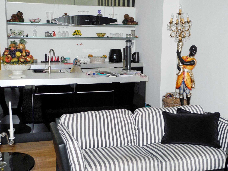 Beispiel Einrichtung Küche Wohnraum