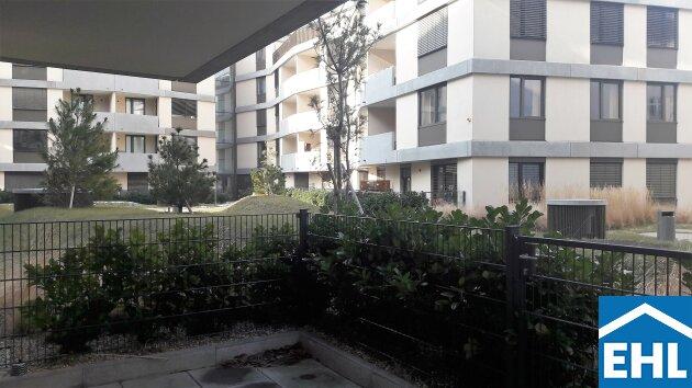 Moderne Garten-Wohnung in Grünlage mit optimaler Verkehrsanbindung
