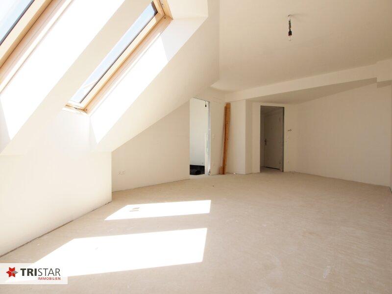 Hochwertig errichtete 3 Zimmer DG-Wohnung mit großer Wohnküche, Bad, separater Toilette und Terrasse, in wunderschöner Innenhofruhelage! /  / 1100Wien / Bild 5