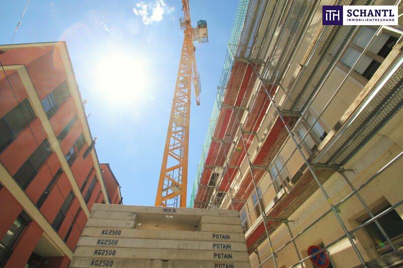 Perfekte 2-Zimmer Wohnung mit Loggia! Großer grüner Innenhof + Rundum saniertes Haus + Perfekte Infrastruktur! /  / 1150Wien / Bild 6