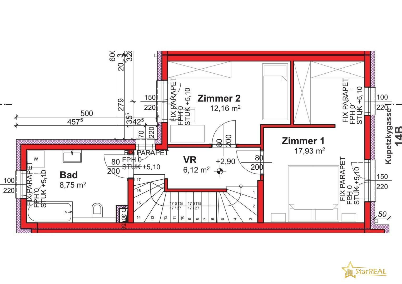 Obergeschoss 14B