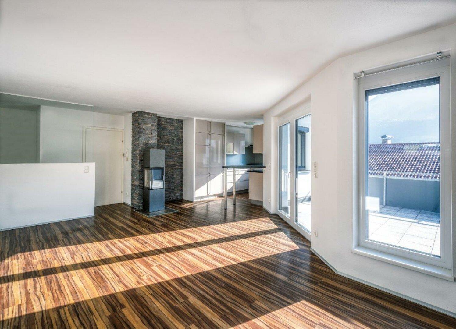 Koch/Wohn/Essbereich, 4-Zimmer Maisonette Wohnung, Schwoich