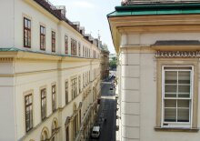 Sonniges Terrassen-Appartement in einem historischen Palais in Citylage