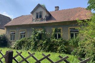 Grundstück in der romantischen Wachau mit sanierungsbedürftigen Altbauhaus