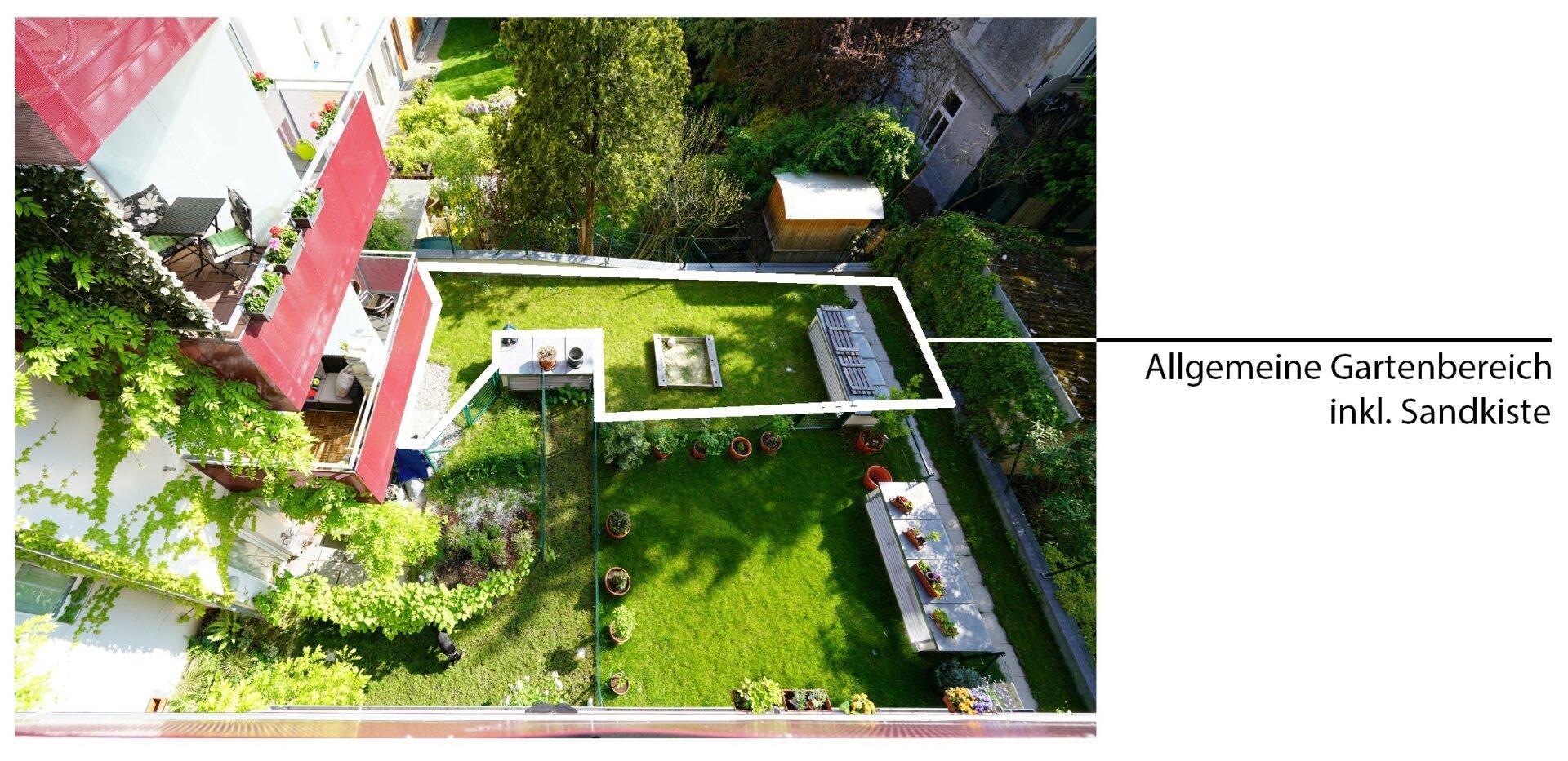 Allgemeine Gartenbereich