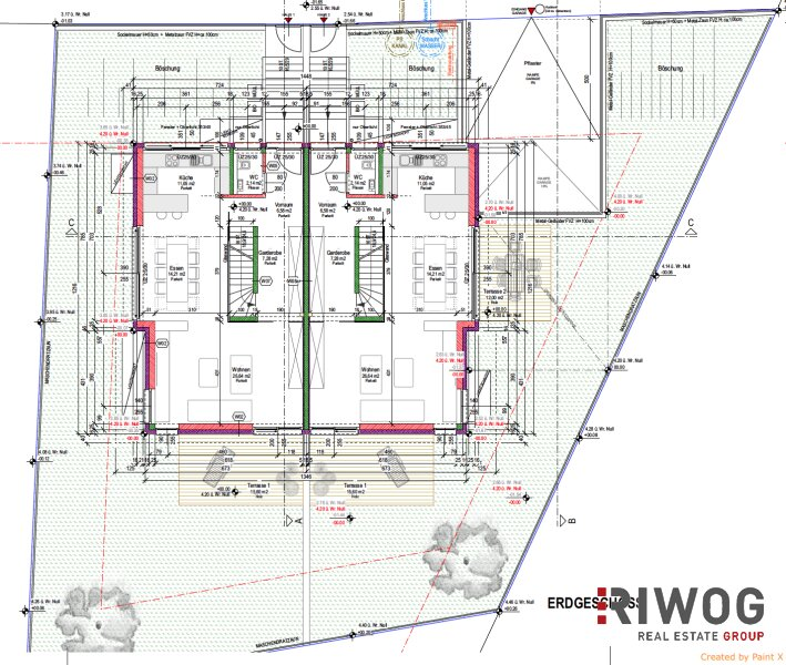 **Exklusive 5 Zimmer Doppelhaus mit Villencharakter - Hochwertigste Ausstattung - beste Bauqualität** /  / 1210Wien / Bild 2