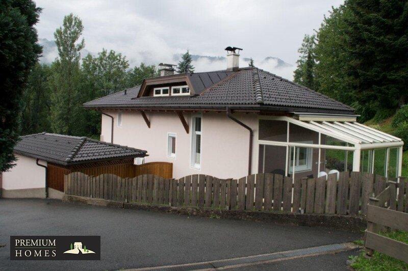 Kirchbichl Zweifamilienhaus_ hohe Qualität mit Modernen Design_Ansicht_Winter_Garten_Ansicht Nordosten