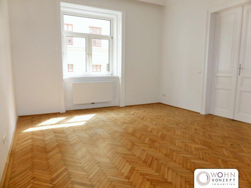 Erstbezug: unbefristeter 79m² Stilaltbau mit Einbauküche  - 1050 Wien