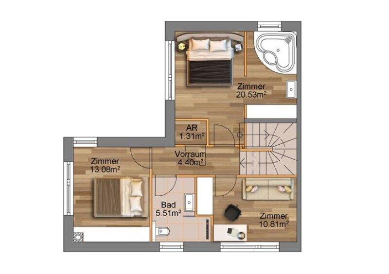 100% Provisionsfrei: Grenze Donaustadt - moderne Doppelhaushälfte in Grünruhelage für Jungfamilien /  / 1220Wien / Bild 0