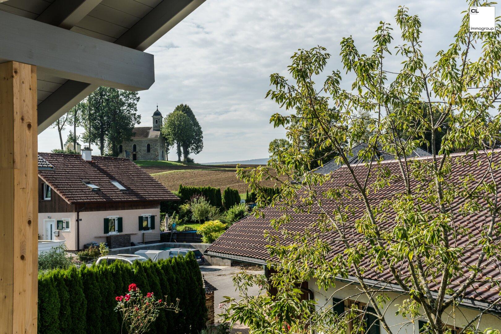 Herrlicher Ausblick von der Dachterrassenwohnung