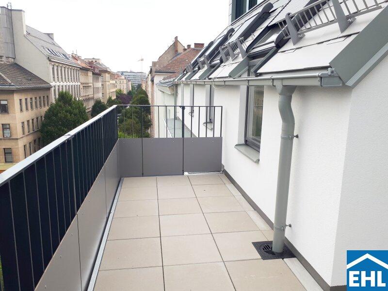 ERSTBEZUG: Top 2 Zimmer Dachgeschoßwohnung mit Balkon im Herzen Margaretens mit verpflichtender Parkplatzanmietung /  / 1050Wien / Bild 6