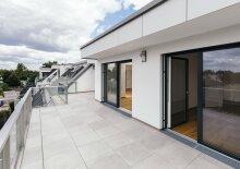 Idyllische Grünruhelage: Exklusive Penthouse Wohnung mit Blick in die Lobau