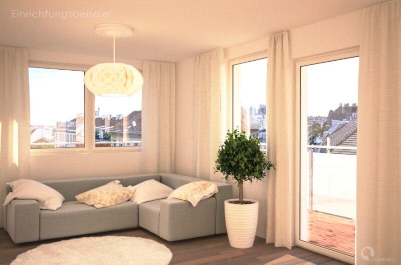 Sonnige 2-Zimmer Wohnung mit Terrasse - ERSTBEZUG