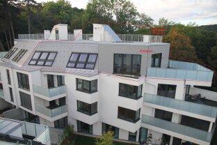 75 m² Dachgarten mit RUND-UM-BLICK + 43 m² Terrasse (südostseitig) NEUBAU-ERSTBEZUG