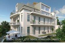 Edle Balkonwohnung mit 5 Zimmer - Altbauflair in modernisierter Luxusvilla - PARKVILLA 17