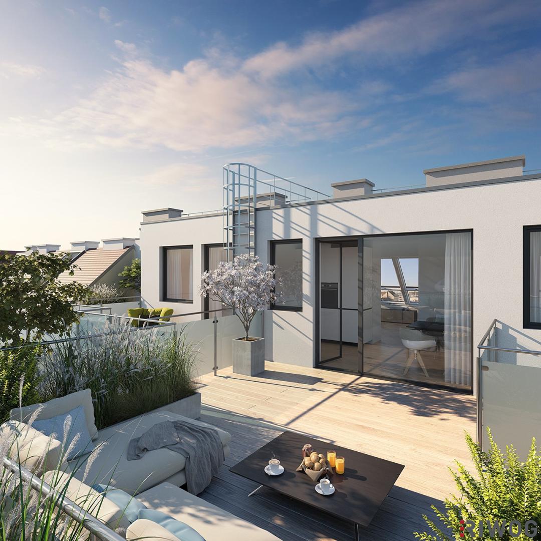 ++ IHR TRAUM VOM EIGENHEIM ++ Moderne Dachgeschoßwohnungen mit Terrassen - Erstbezug (Projektansicht)