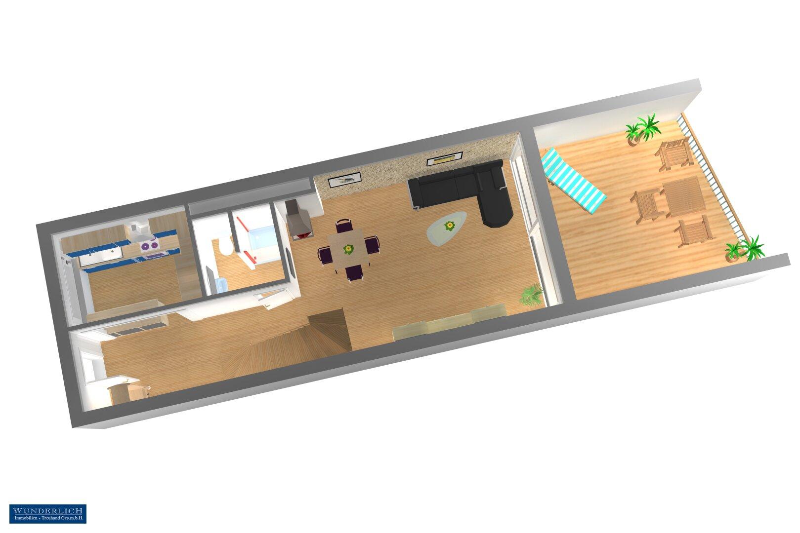 Eingsangsebene 3D-Visualisierung 1