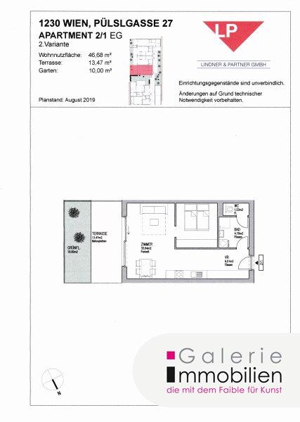 Nähe Liesingbach - Bezauberndes Apartment mit Terrasse und kleinem Garten Objekt_31842 Bild_334
