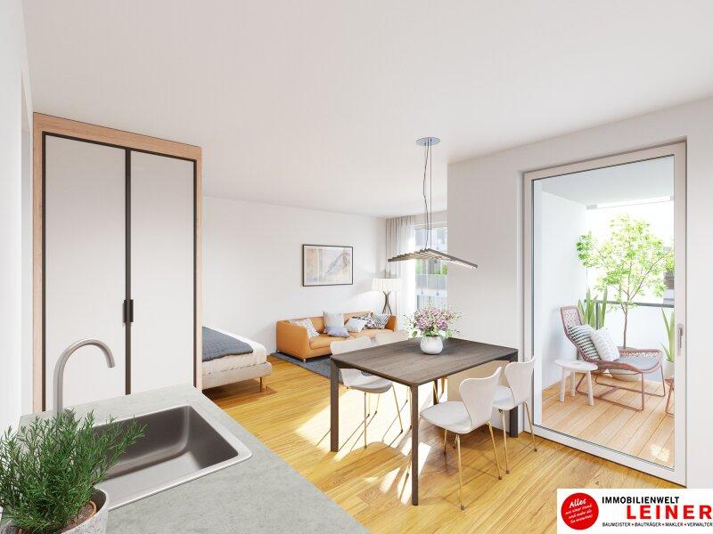 ANLEGERHIT! Erstbezug 1-Zimmer Wohnung mit Loggia & Terrasse Objekt_12078 Bild_571