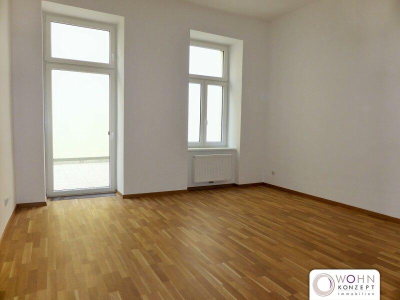 Unbefristeter 80m² Altbau + 34m² Terrasse in Ruhelage! /  / 1150Wien / Bild 1