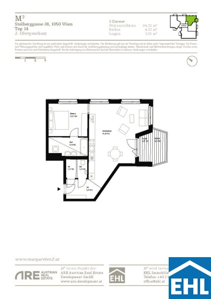 Top 2 Zimmerwohnung im Herzen Margaretens /  / 1050Wien / Bild 0