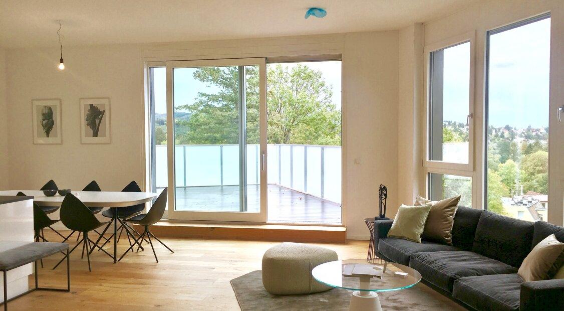1140! Traumhafte 4-Zimmer DG Wohnung mit 2 Terrassen direkt am Wienerwald! ERSTBEZUG!