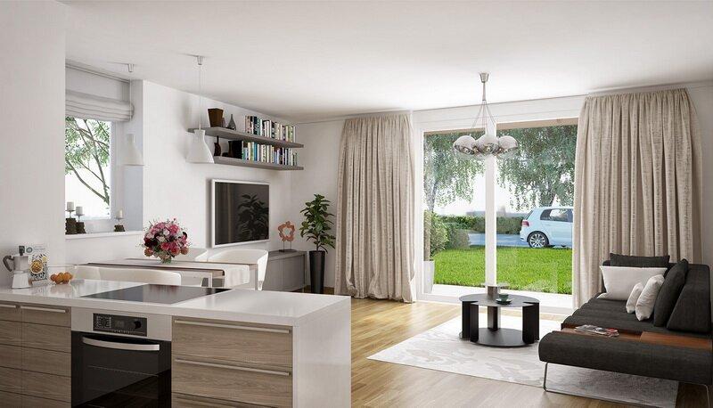 Bezaubernde 3-Zimmer-Garten-Wohnung in der Josefiau