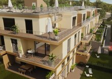 Dachtraum (Top 24), 3 Zimmer, Provisionsfrei, Erstbezug, Erstklassige Ausstattung, Neubau, luxuriös + Dachterrasse, Garage
