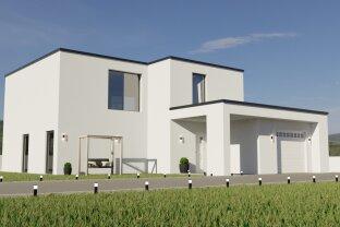 Leben im Grünen auf Eigengrund: Einfamilienhaus mit Garage in Gänserndorf Süd