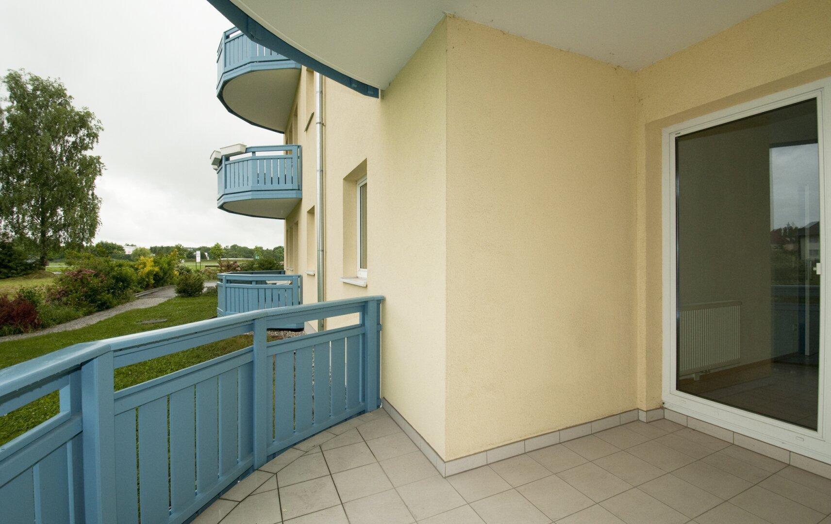 Loggia und Balkon