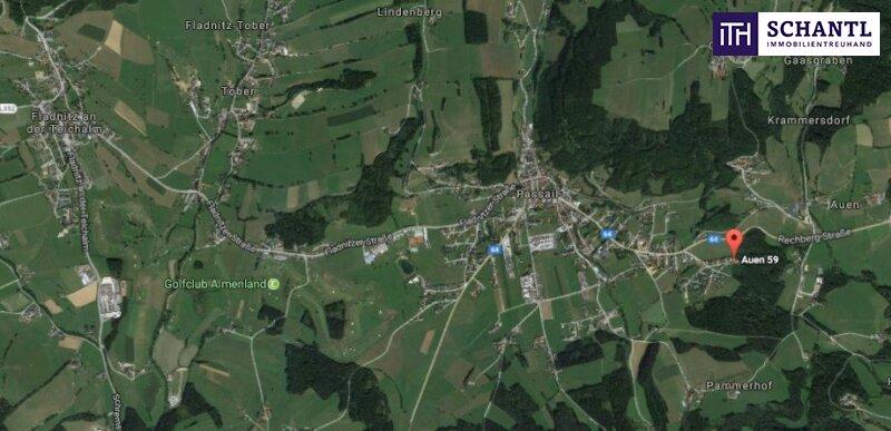 ITH #Barrierefreier Bungalow in idyllischer Lage + Carport//Weiz
