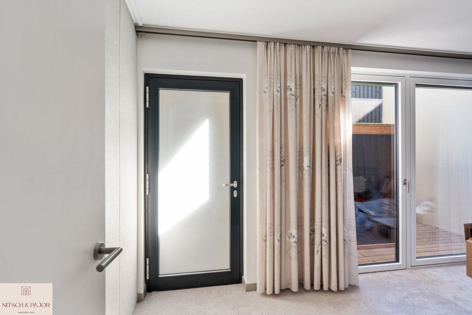 Souterrain Gästezimmer/Wellness/Zugang zur Terrasse mit Sauna