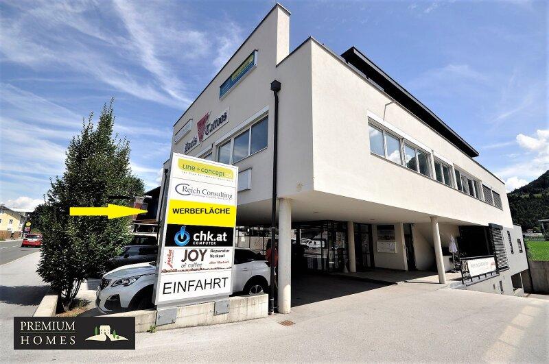 WÖRGL_ ANLAGE_ Rendite_Objekt im Zentrum von Wörgl ca. 4,00 % p.a _ Geschäftsfläche zu verkaufen_Haus_Ansicht_Richtung Westen