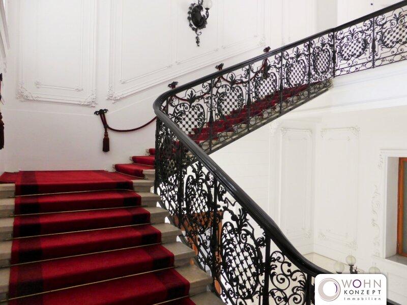 Botschaftsviertel: 58m² DG-Mansarde im wunderschönen Palais - 1030 Wien /  / 1030Wien / Bild 0