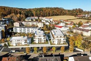 TOPLAGE - St. FLORIAN! Moderne, exklusive Neubau-3-Zimmer-Eigentumswohnung mit Loggia und Terrasse