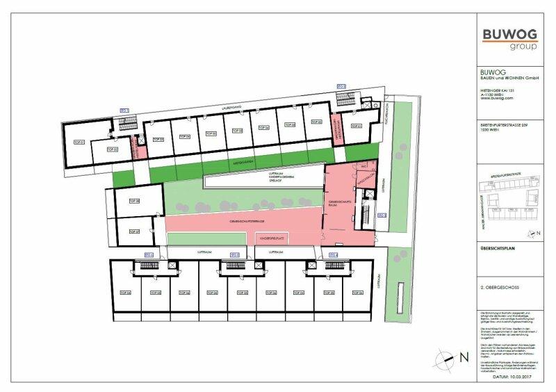 ERSTBEZUG & UNBEFRISTET: Schöne 3-Zimmer-Wohnung im 2. Stock mit Loggia und Gemeinschafts-POOL am Dach - PROVISIONSFREI /  / 1230Wien / Bild 7