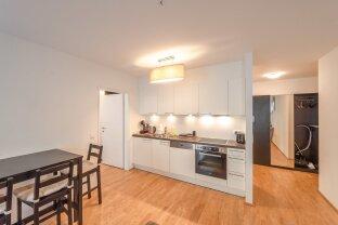 2-Zimmer-Neubau-Wohnung (2018) inkl. Loggia nahe Linie-U1 (unmöbliert)