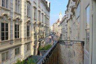 4 Zimmer Wohnung mit Balkon - repräsentatives Barockgebäude - Nähe Stephansplatz