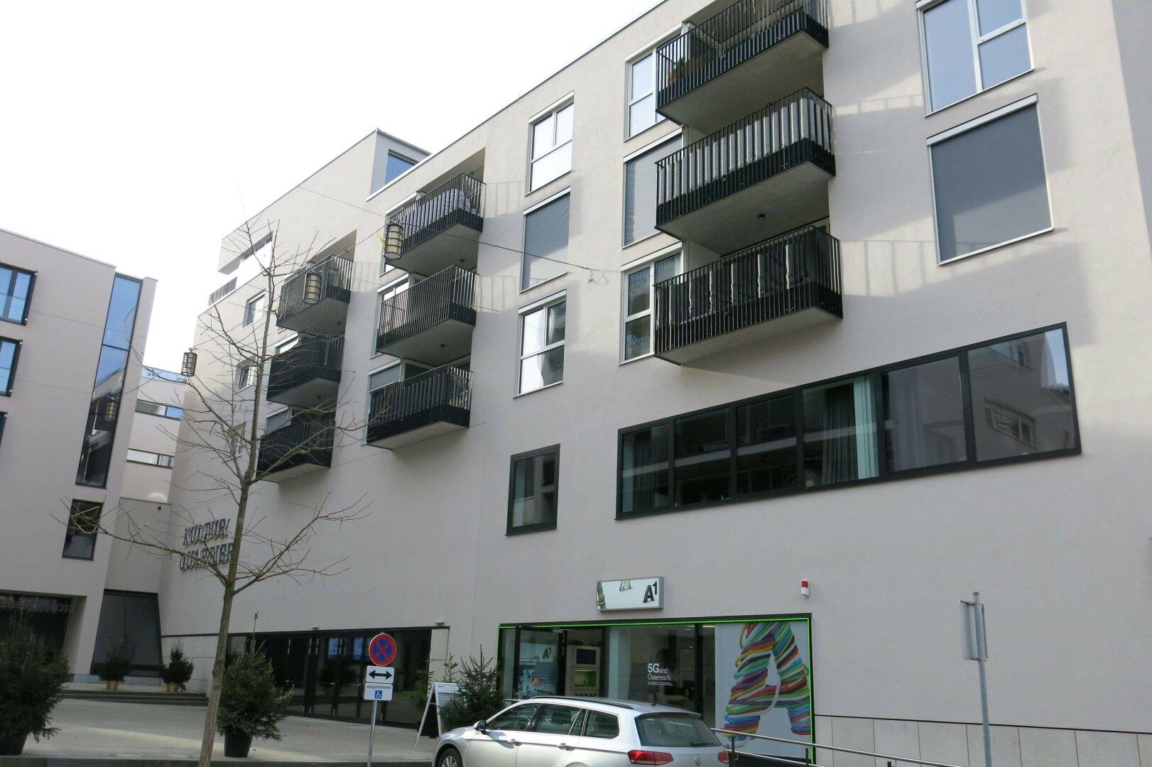 3-Zimmer-Mietwohnung Kufstein Zentrum, Hausansicht