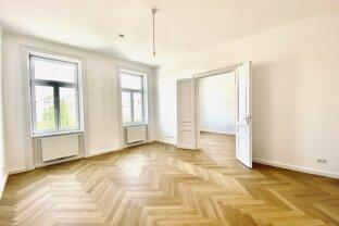 HAMBURGERSTRASSE - ERSTBEZUG | prachtvolle 3-Zimmer-Altbauwohnung beim Naschmarkt