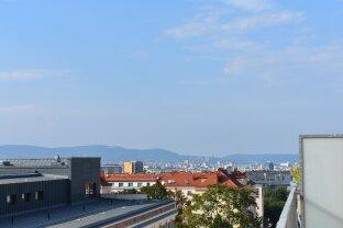 Aussicht über Wien bis zum Wienerwald