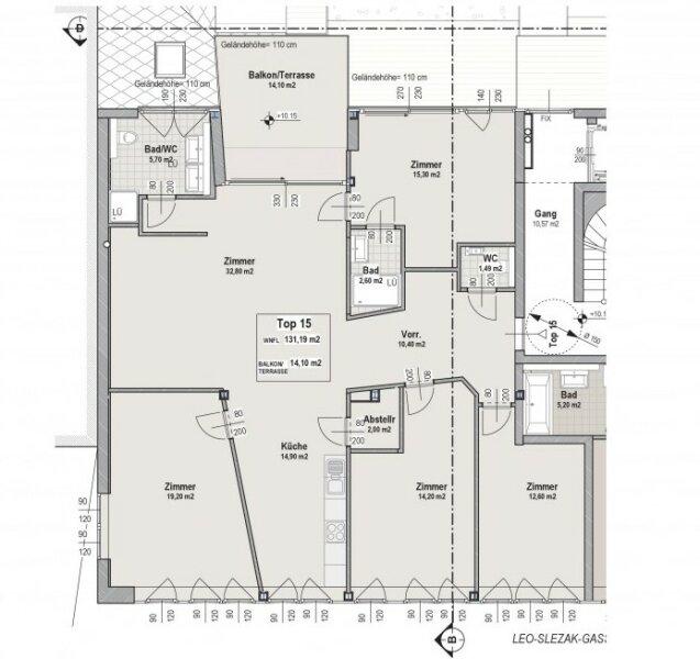 5 Zimmer Wohnung mit Balkon/Terrasse in 1180 Wien !!! /  / 1180Wien / Bild 3