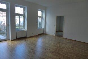 2-Zimmerwohnung mit Eigengarten - zentral und doch in Grünruhelage
